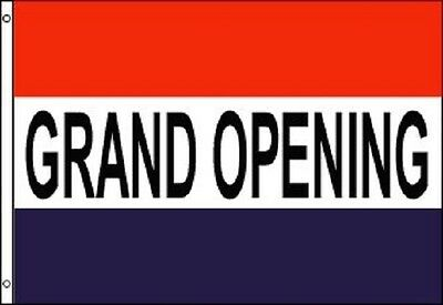 3x5 GRAND OPENING Flag Business Banner Advertising Pennant Store Restaurant Sign