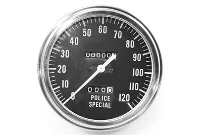 Police Special Speedometer with 2240:60 Ratio, EA,for Harley Davidson motorcycle