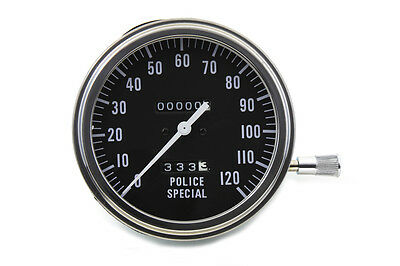 Police Special Speedometer with 2:1 Ratio, EA,for Harley Davidson motorcycles,by