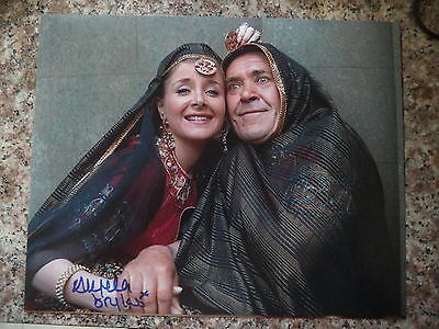 """CARRY ON UP THE KHYBER ANGELA DOUGLAS HAND SIGNED 8""""x10"""" PHOTO PETER BUTTERWORTH"""