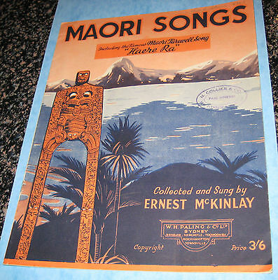 Maori Songs -  A collection of New Zealand songs