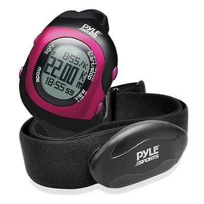 New PSBTHR70PN Bluetooth Fitness Heart Rate Monitoring Watch &Wireless Data-Pink
