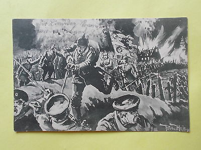 2 x Sturmangriff des 3. Garderegiments in Russland - 1915 - Paul Heil -