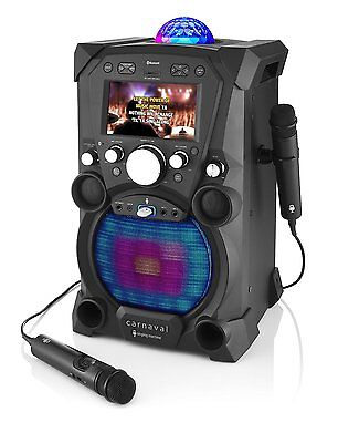 Singing Machine SDL9035 Carnaval Portable HI-DEF Karaoke Machine - Black