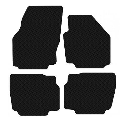 Ford Mondeo 2007 - 2013 Black Floor Rubber Fully Tailored Car Mats 3mm 4pc Set