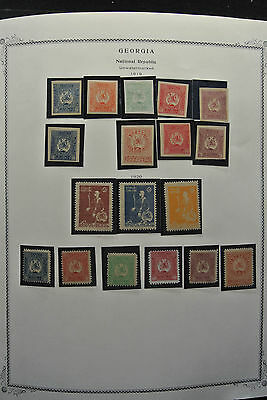 Lot 26222 Collection stamps of Georgia 1919-2009!