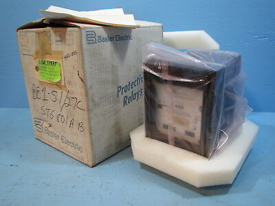NEW Basler Electric BE1-51/27C Time Overcurrent A1E-Z1P-B1E1F Relay BE151 NIB