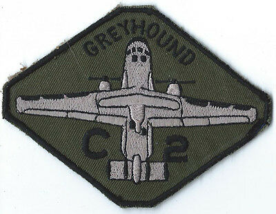 USN Theatre Made C-2 Greyhound Squadron Patch