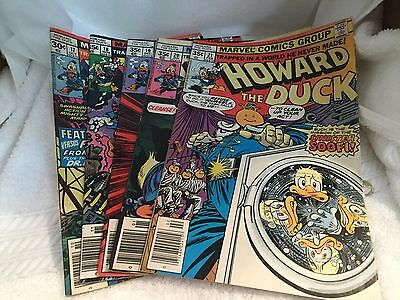 Howard The Duck Marvel Comic Lot of 5 Books Issues 17 18 19 20 21 Good Condition
