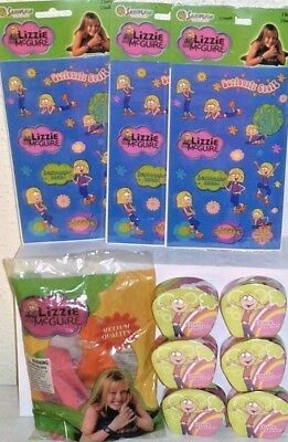 New Lizzie Mcguire Hilary Duff Toy Lot Party Supplies Loot Bag Toys