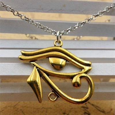 Rah Egypt Eye Of Horus Egyptian Charms Pendants Jewelry Necklace Chain Gift