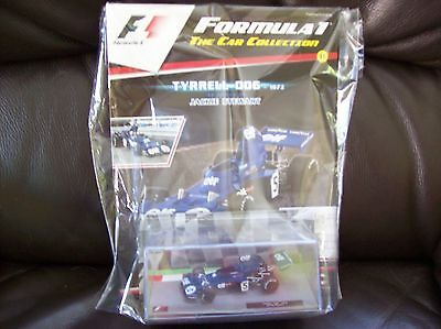 Formula 1 The Car Collection Part 11 Tyrrel 006 1973 Jackie Stewart