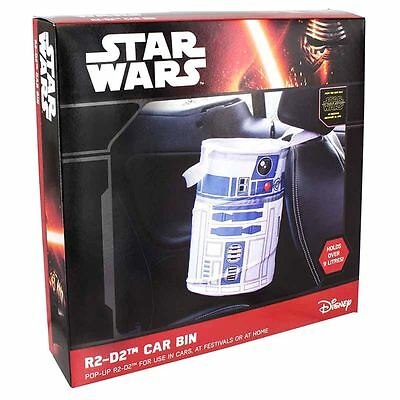 Official Star Wars R2-D2 Astromech Droid Style Car Bin 9 ltr - Boxed Gift New