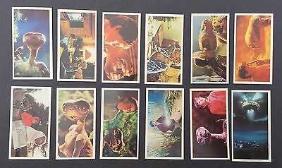 Rare E.T. The Extra Terrestrial UK Nabisco Biscuit Cards Full Set Rare 1982