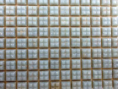 Dolls House Mosaic Tile Flooring 377 Individual Miniature Real Glass Tiles Grey