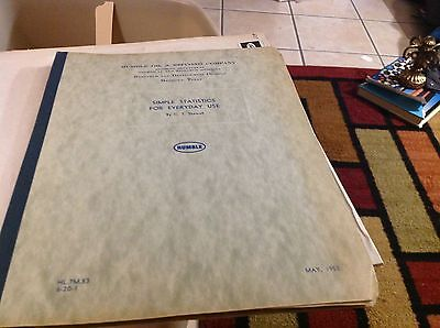 Humble Oil & Refining Co Research &Development Division 1953 Booklet