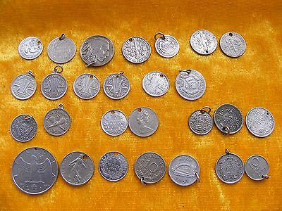 (1) Various Vintage Coins Australian French Sweden India Italy Usa Nz Denmark