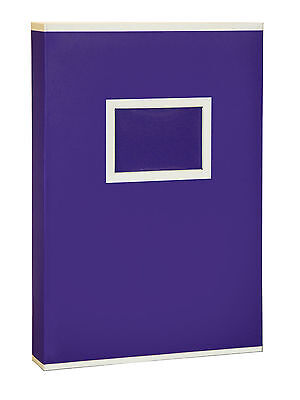 Large Purple Two Tone Memo Slip In Photo Album 300 6 x 4 Photos