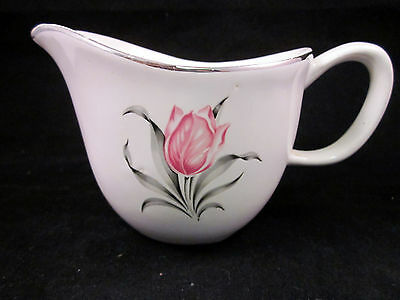 Vintage Paden City Preview Kenilworth Pattern Open Handled Creamer