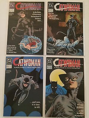 Catwoman, # 1 - 4 (1989 1St Series) Dc Comics Vf/nm
