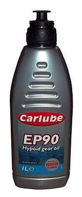 Fso 125P 1967-1992 Carlube Ep90 1L Steering Gear Oil Transmission Lubricant