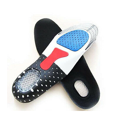 Hot Orthotic Arch Support Sport Running Gel Cushion Heel Shoe Insole Pad Insert