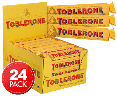 24 x Toblerone Bars 35g