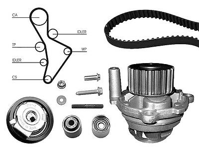 Water Pump And Timing Cam Belt Kit Replacement Part For Audi A3 2.0 Fsi
