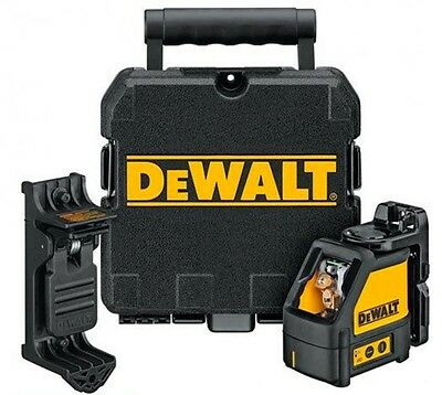 DEWALT DW088K Self Leveling 3-way Cross Beam, Multi Line Laser Level w/Case NEW