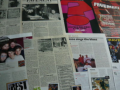 Pavement/stephen Malkmus - Magazine Cuttings Collection (Ref Aa1)