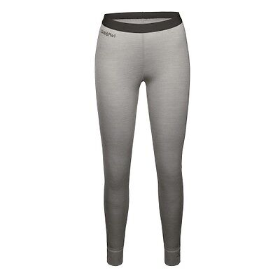 Schöffel Merino Sport Pants long W light grey Hose Funktionsunterwäsche Damen
