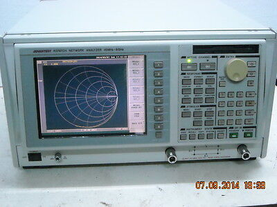 ADVANTEST R3765/66/67 series  Network Analyzer Calibration and Repair job Only