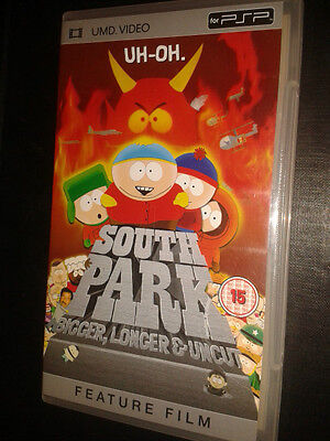 * Sony PSP CLASSIC Film * SOUTH PARK BIGGER LONGER AND UNCUT * UMD
