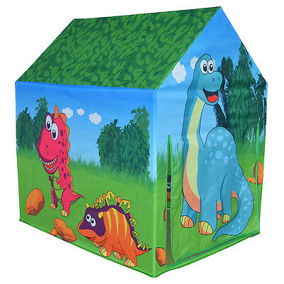 Charles Bentley Children's Dinosaur Play Tent Playhouse Indoor Outdoor
