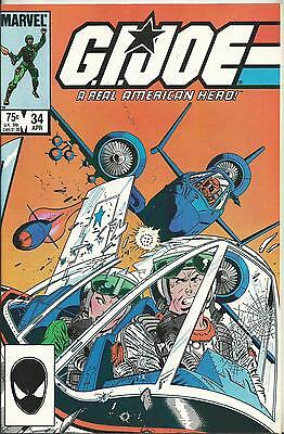 G.i.joe: A Real American Hero #34  (Marvel) (1985)