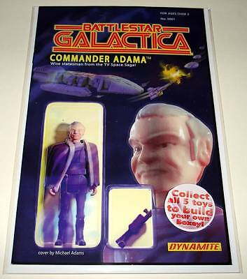 BATTLESTAR GALACTICA # 1 Dynamite Comic 2016  NM  ACTION FIGURE VARIANT COVER