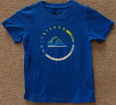 Childrens T-Shirt Camino A Puerto White or Blue Ages 2-7 Sale Quiksilver Kids