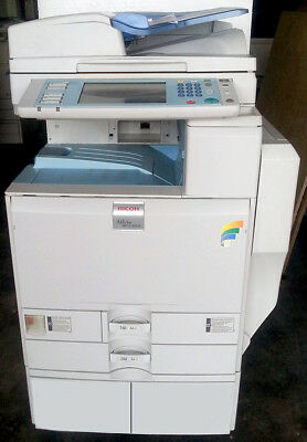Ricoh Aficio MP C4500 Color Copier Printer Scanner MFP C3500 C5000