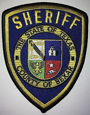 COUNTY of BEXAR SHERIFF PATCH - TEXAS - USA