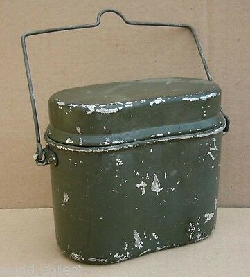 BULGARIAN WWII ARMY MESS KIT, German model soldier equipment