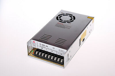 US SHIPPING 24 VDC 14.6A 350W Regulated Switching Power Supply