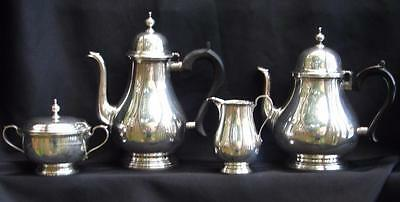 Tiffany Tea & Coffee Set Queen Anne 4 Pc Set Service Sterling Silver NO Monogram