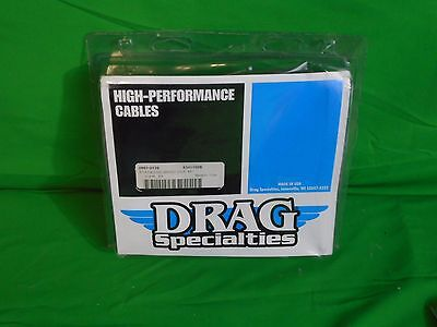 Nos Drag Specialties Alternative Length Braided Idle Cable, Oem, P/n -0651-0129