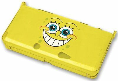 Nintendo 3DS * NEW SPONGEBOB SQUAREPANTS CRYSTAL CASE AND STYLUS