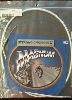NOS Magnum 3486S Chromite II Braided Idle Cable 3486S
