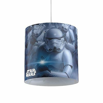 Official Star Wars Stormtrooper Pendland Light Shade Childrens Bedroom Free P+P