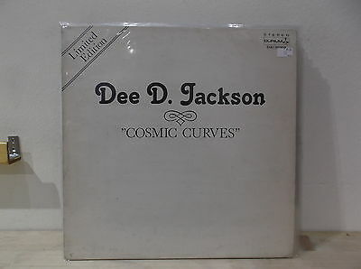 DEE D. JACKSON ‎ Cosmic curves  LP EX-/EX  ITA LIMITED EDITION