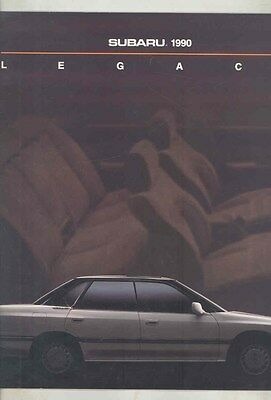 1990 Subaru Legacy Large Brochure my6499