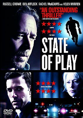 State Of Play Dvd Brand New 2009 Region 2
