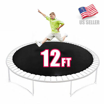 Party Saving 12 FT Trampoline Combo Bounce Jump Net